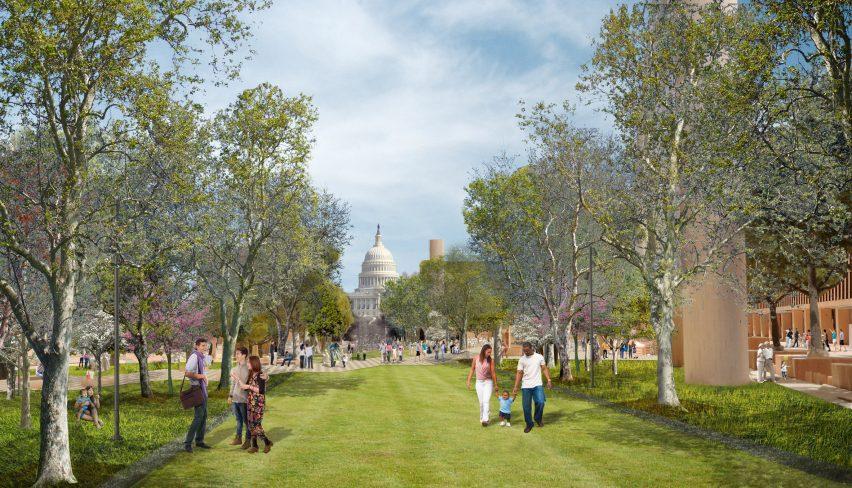 Gehry Eisenhower Memorial