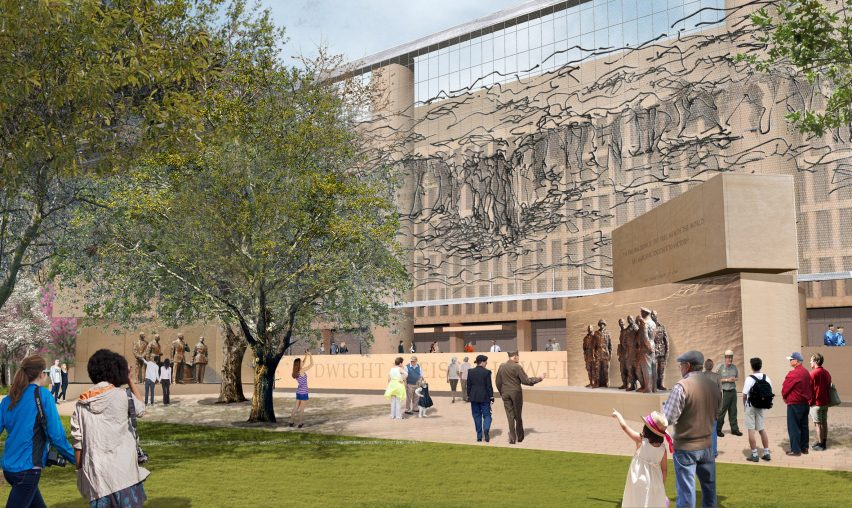Gehry Eisenhower Memorial