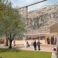 Frank Gehry's Eisenhower Memorial breaks ground in Washington DC