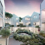 New images released of MAD's design for hilltop village in Beverly Hills