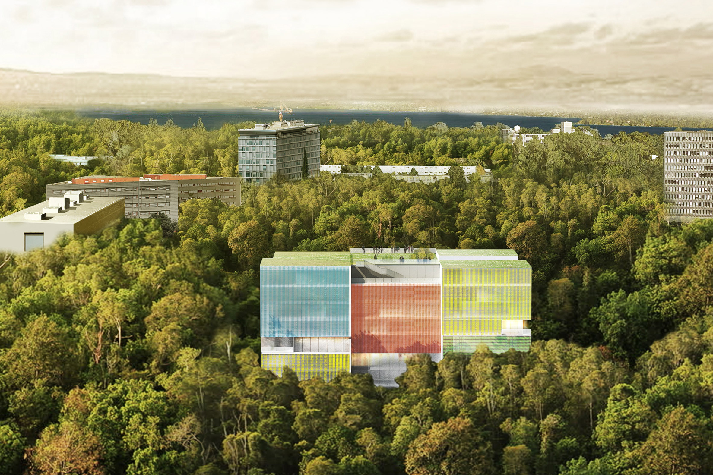 Steven Holl unveils winning design for Doctors Without Borders operation centre in Geneva