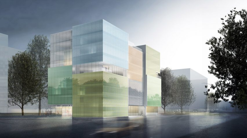 Steven holl unveils design for doctors without borders offices in geneva