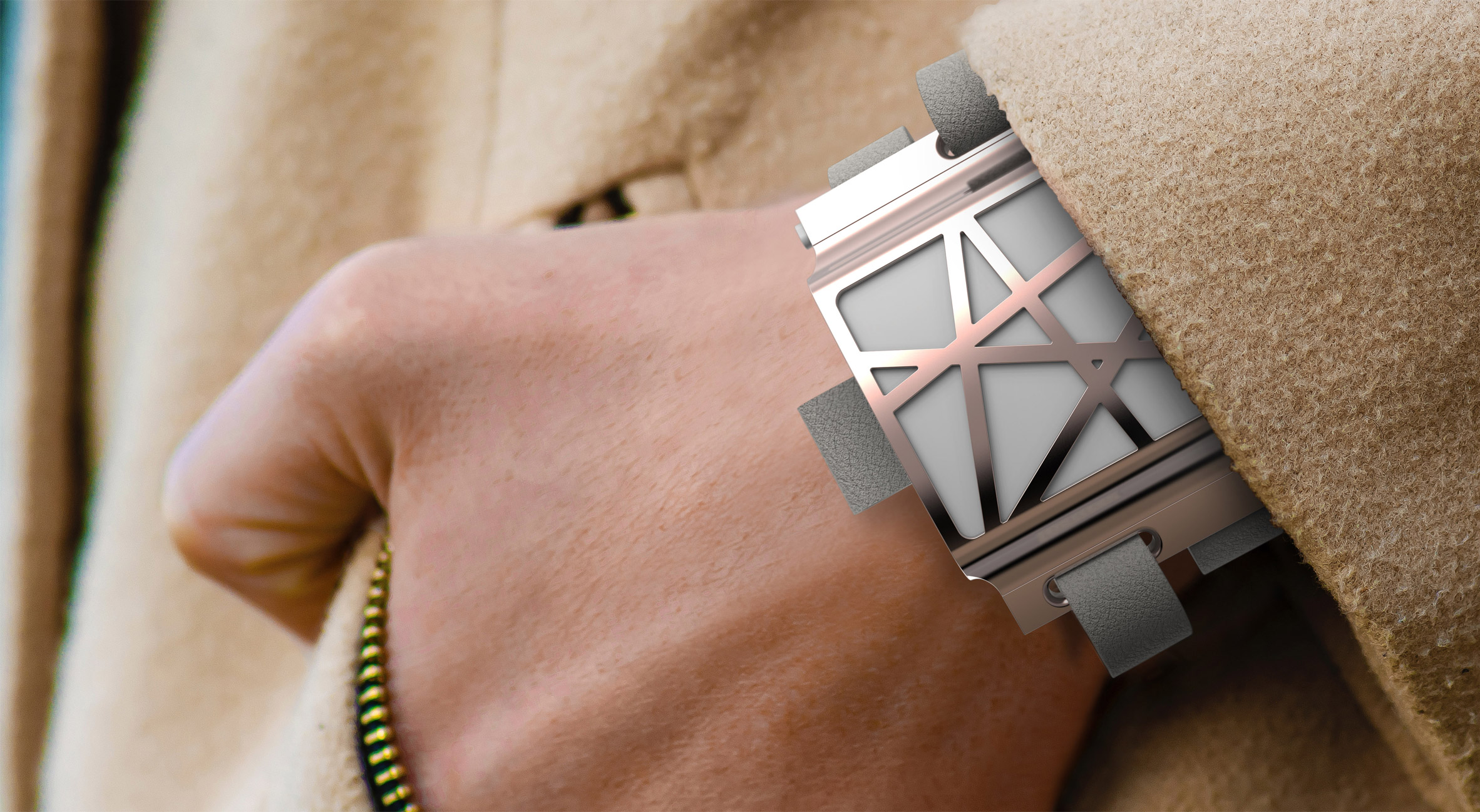 Grace wristband is designed to alleviate and track menopause symptoms