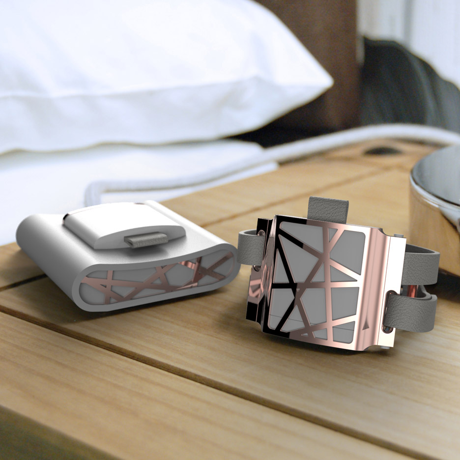 Peter Astbury's wristband counters symptoms of menopause