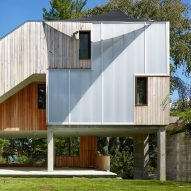 Long Island house for a tailor is built using trees felled in hurricane
