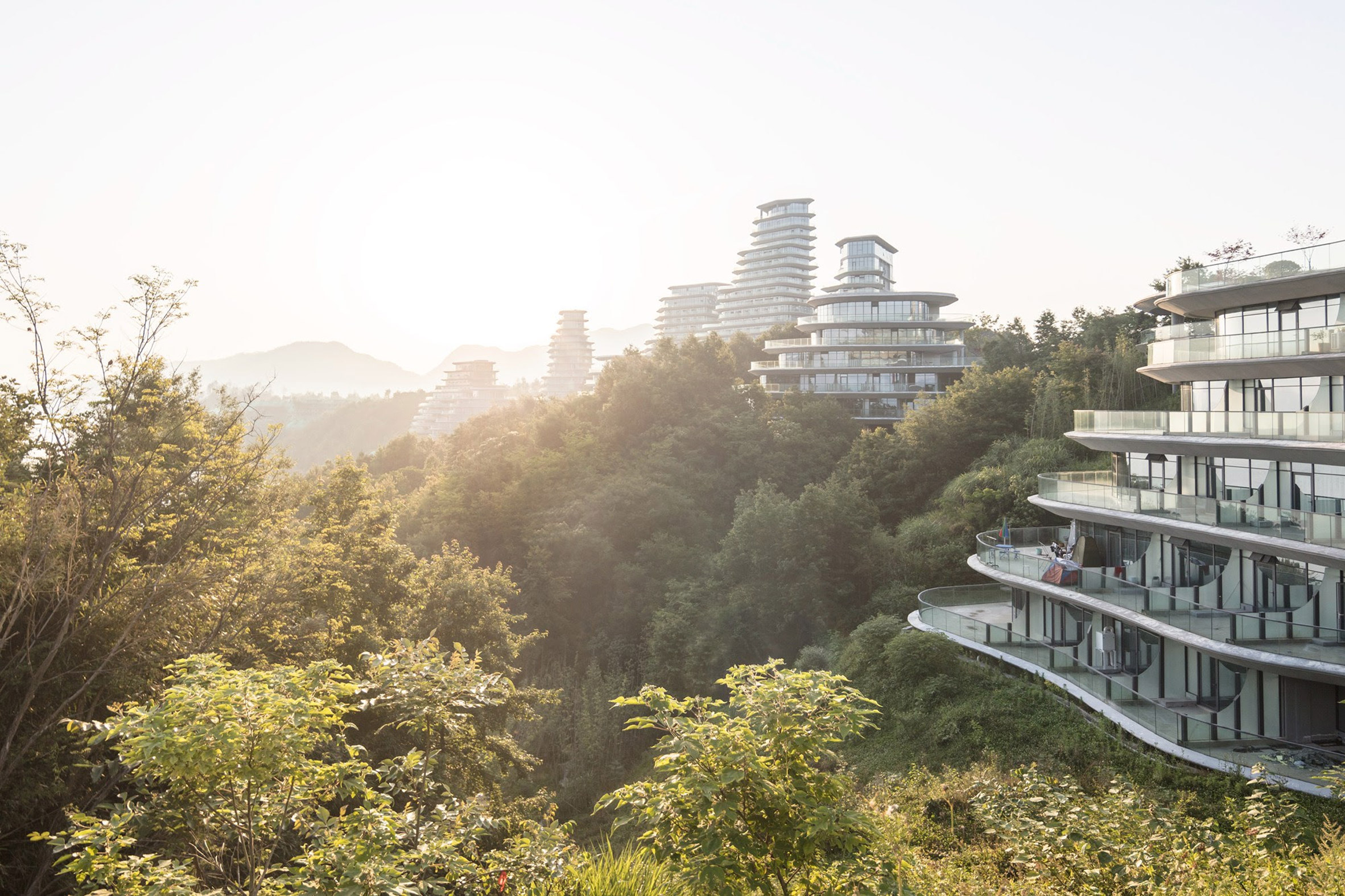 Huangshan Mountain Village by MAD