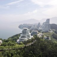MAD's Huangshan Mountain Village mimics the topography of a rocky Chinese landscape