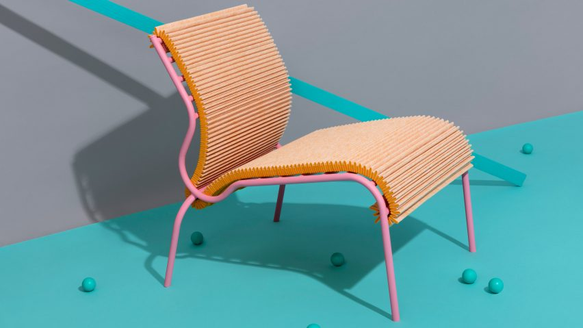 Dutch Designers Showcase Furniture And Products Made From Unusual Textile