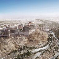 "Allies and Morrison challenges ""identikit urbanism"" with masterplan for new city in Oman"
