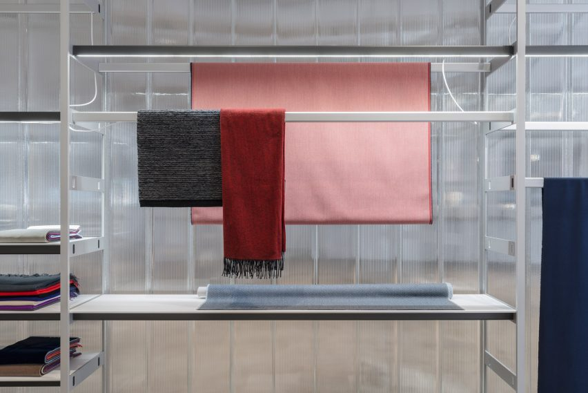 Kvadrat showroom by Bouroullec brothers