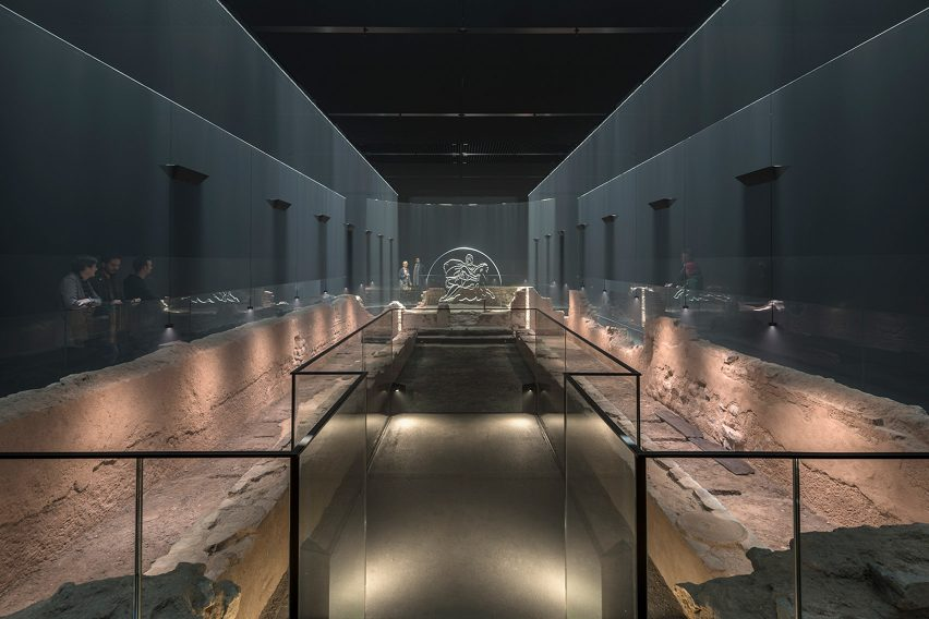 Underground Roman temple reopens as immersive museum