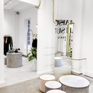 Maison Kitsuné flagship store, New York, by Mathieu Lehanneur