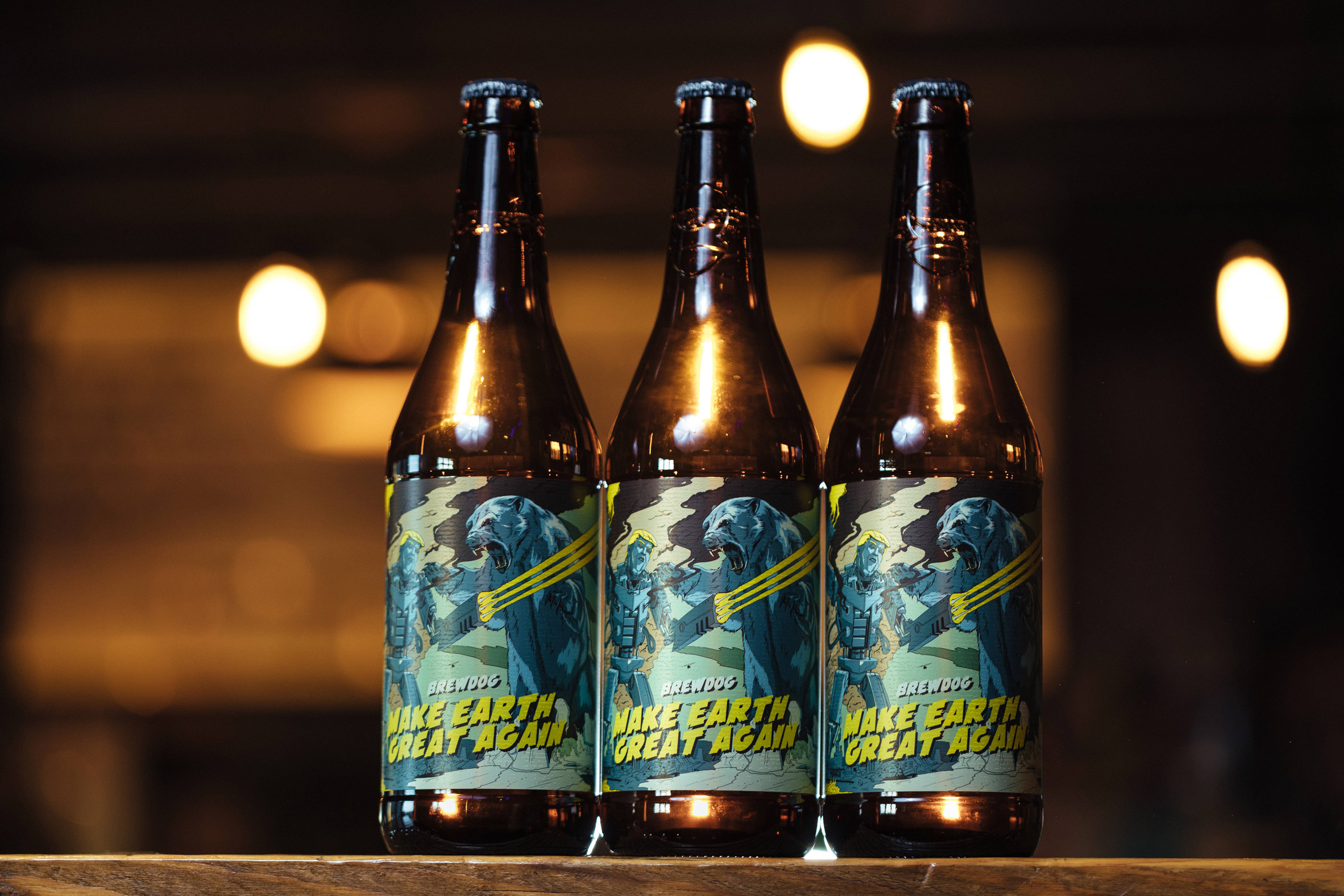 "Brewdog launches beer designed to ""remind leaders to prioritise climate-change issues"""