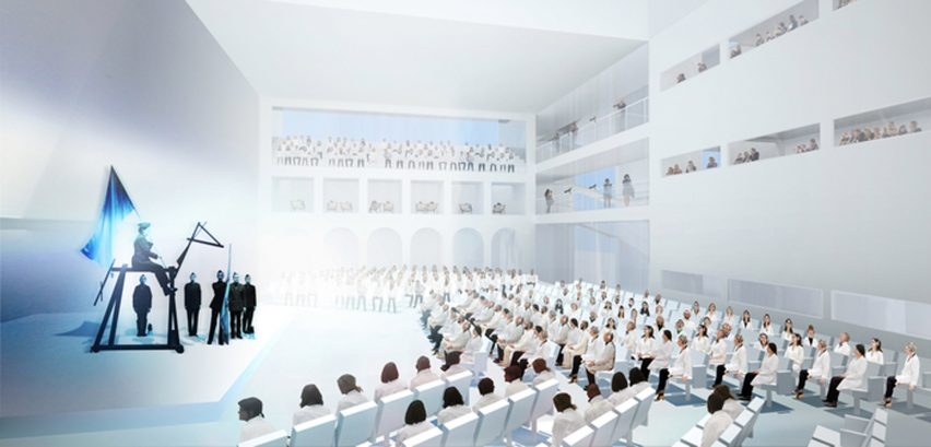 The Marina Abramovic Institute for the Preservation of Performance Art (MAI) by OMA