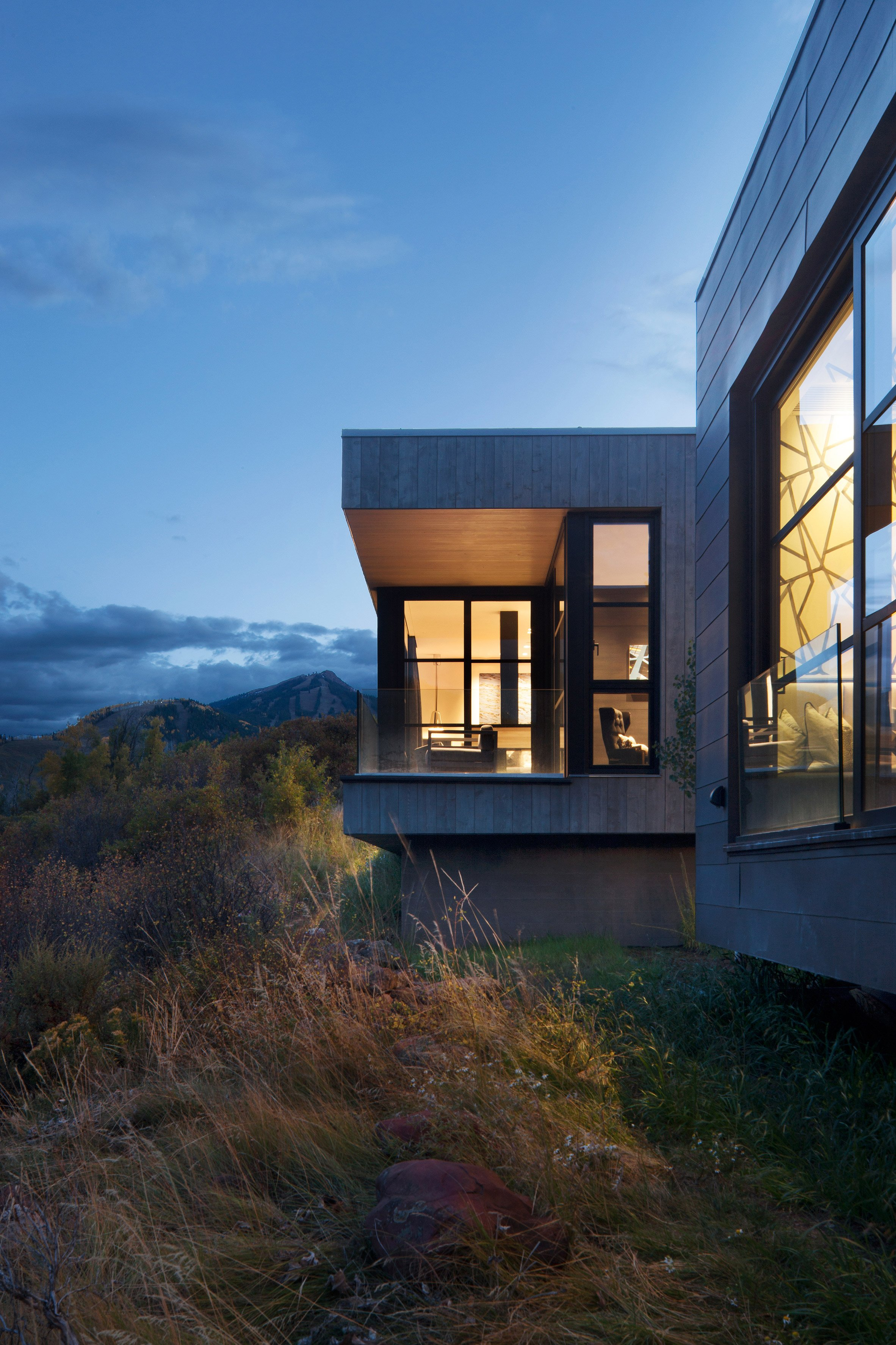 Maroon Creek Overlook by CCY Architects