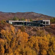 Aspen retreat by CCY Architects overlooks dramatic mountainous scenery