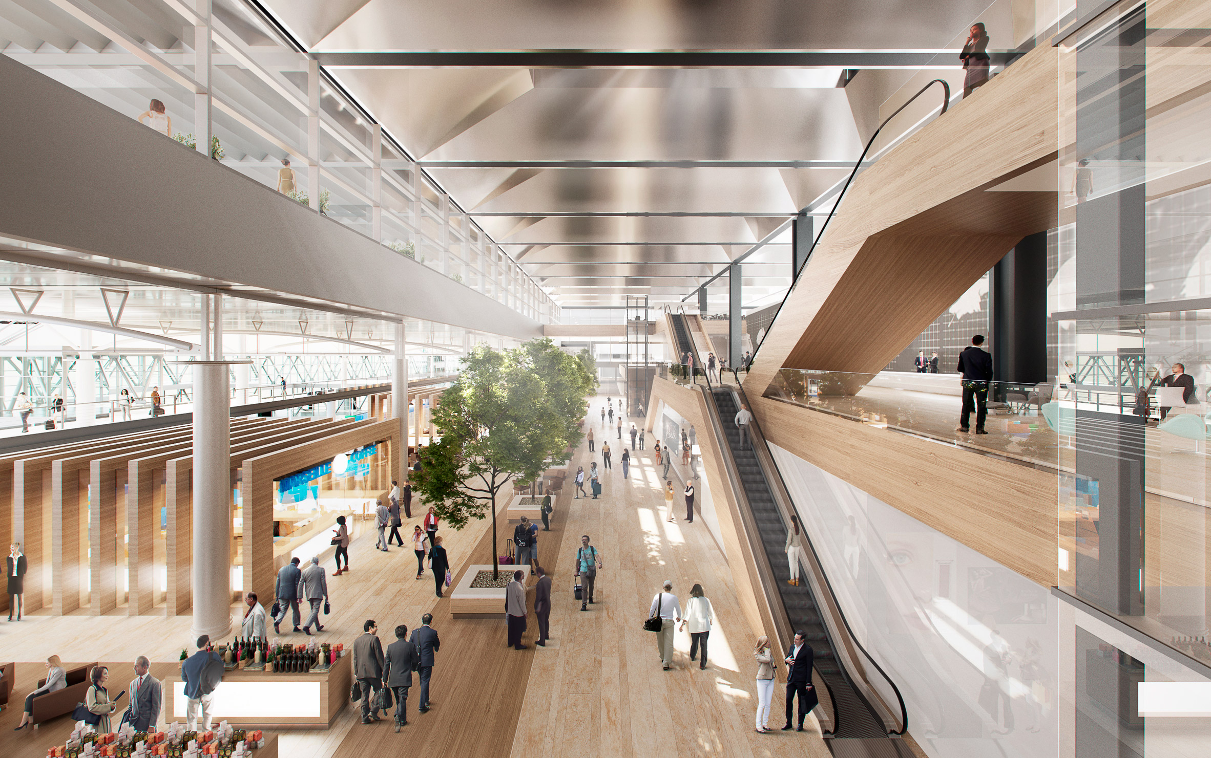 """Foster + Partners to add """"missing piece"""" to Rogers' Marseille airport extension"""