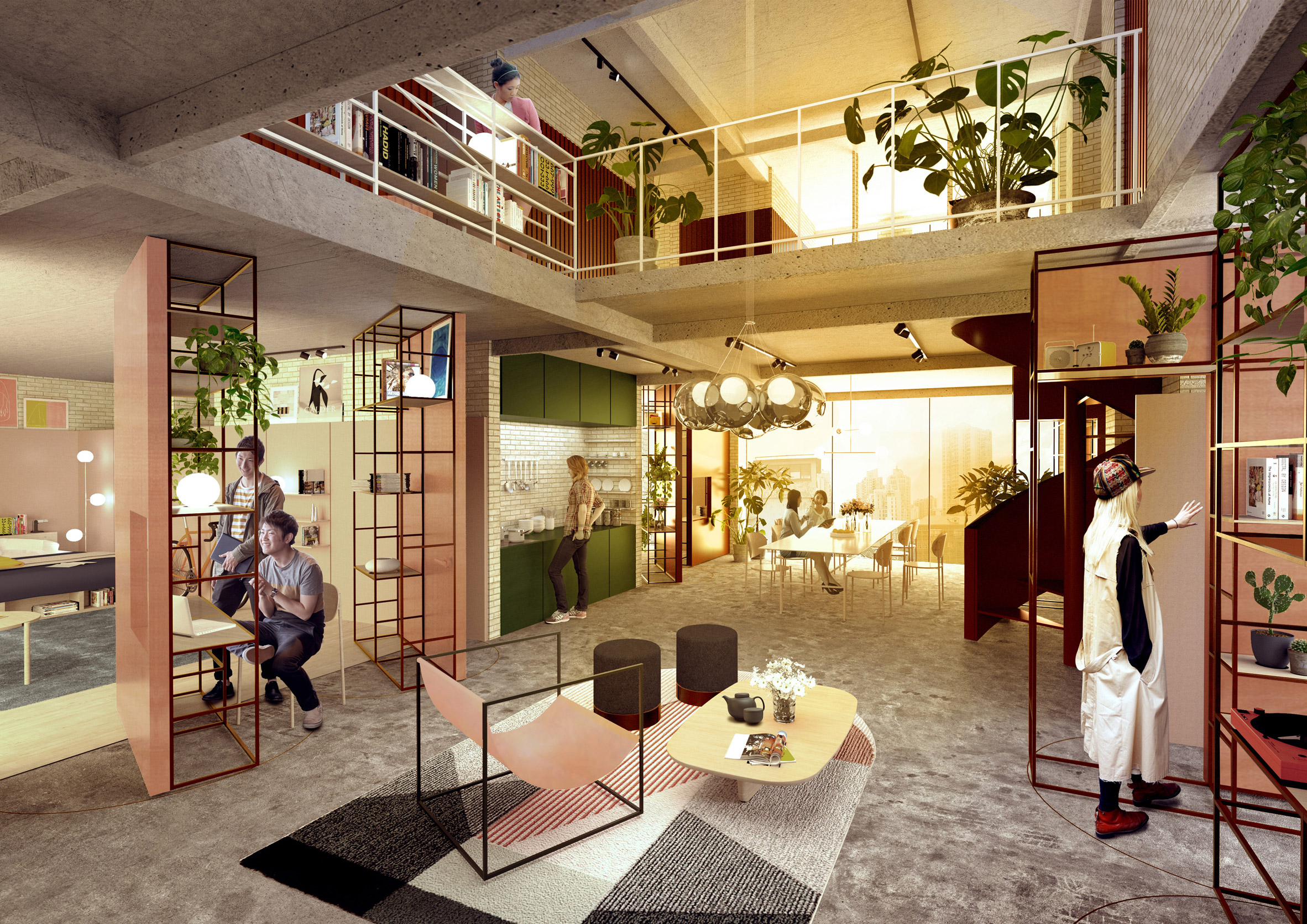 """MINI's co-living destination in Shanghai """"brings know-how from vehicles into places where we live"""""""