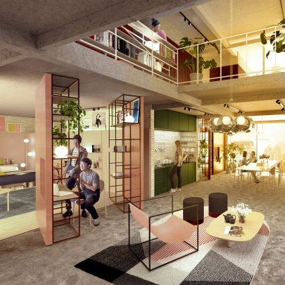 co living and shared ac modation dezeen