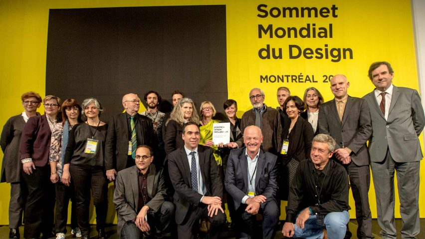 Montreal Design Declaration at Design Summit Meeting