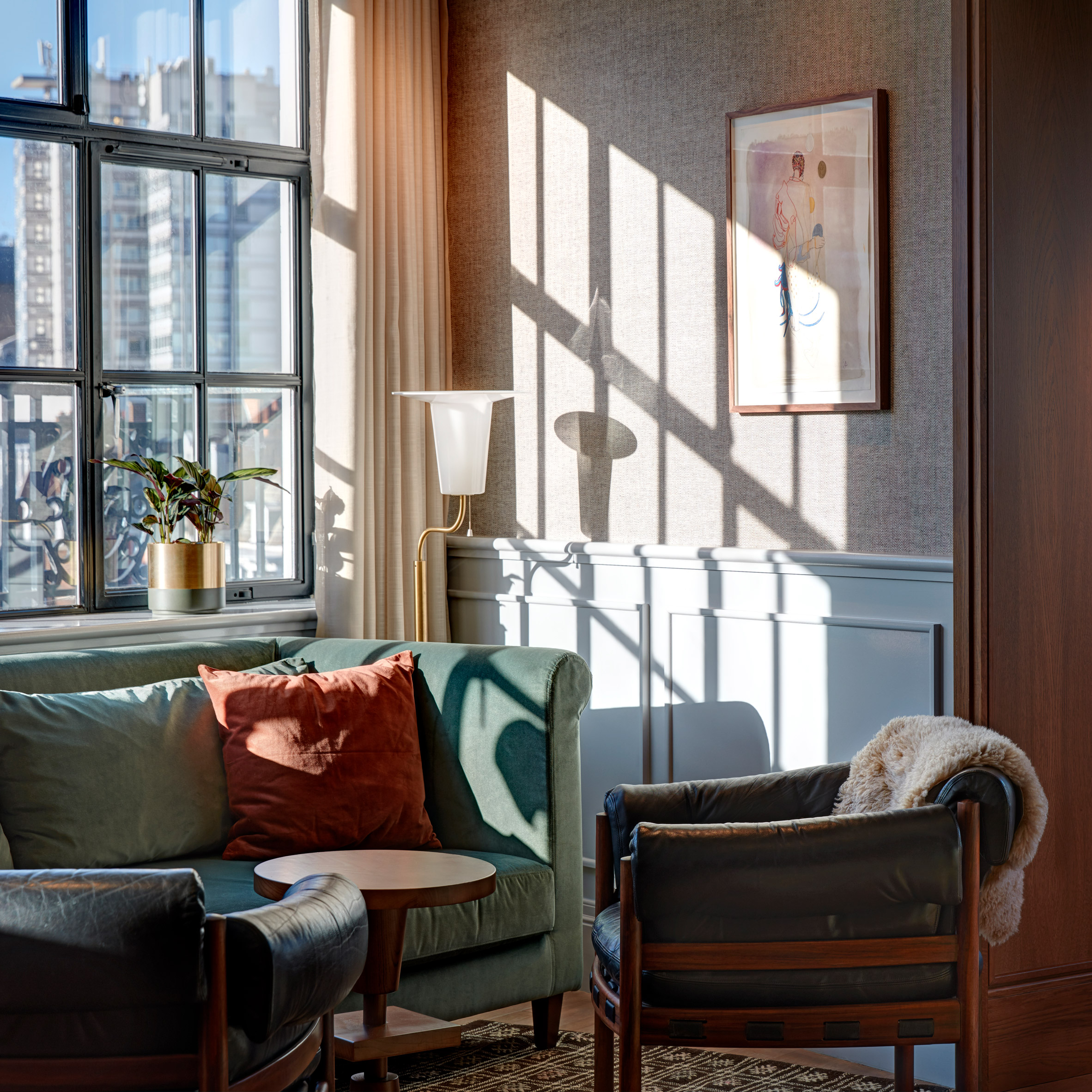 AvroKO creates art-deco-inspired interiors for new London members' club  Mortimer House