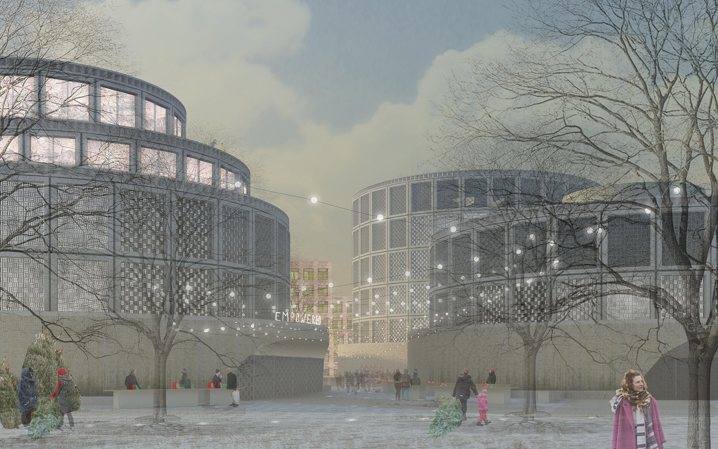 Six ideas to transform Britain's decommissioned gasholders make shortlist in RIBA competition