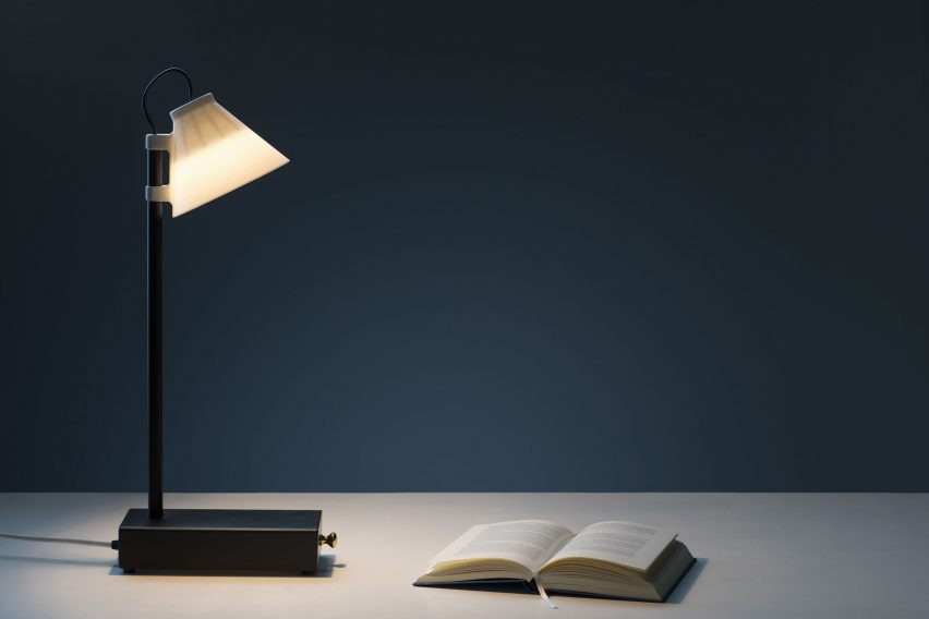 Klemens Schillinger's lamps supply electricity in exchange for users' smartphones