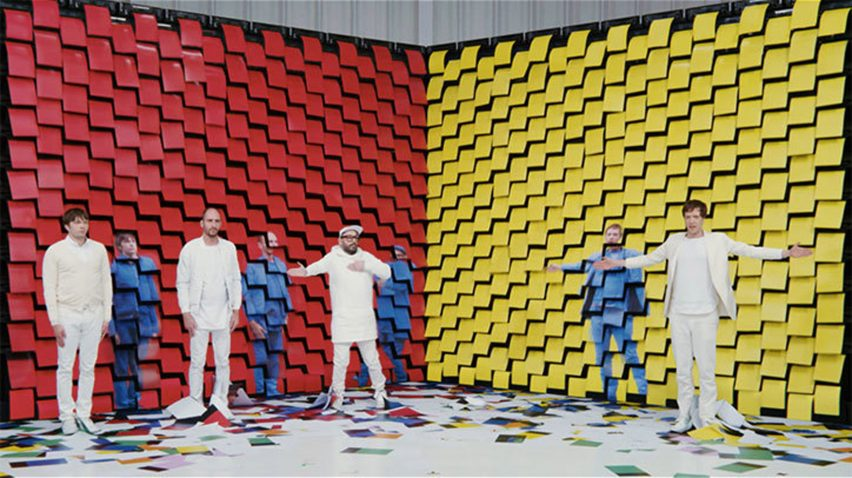 Ok Go music video for track Obsession