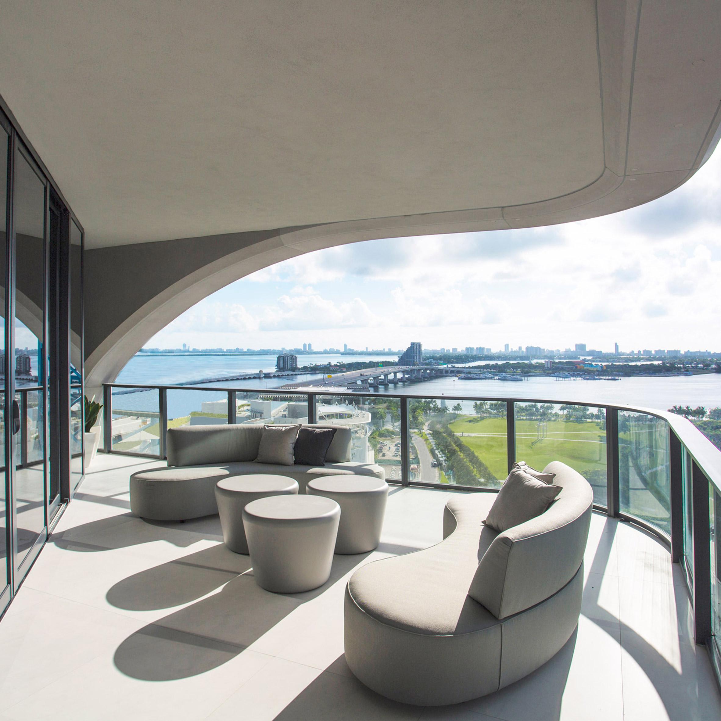First Apartment In Zaha Hadidu0027s Miami Skyscraper Revealed