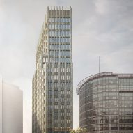 Carmody Groarke wins approval for skyscraper in London's Paddington