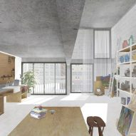 Carmody Groarke unveils plans for art centre at Sheffield's Park Hill estate