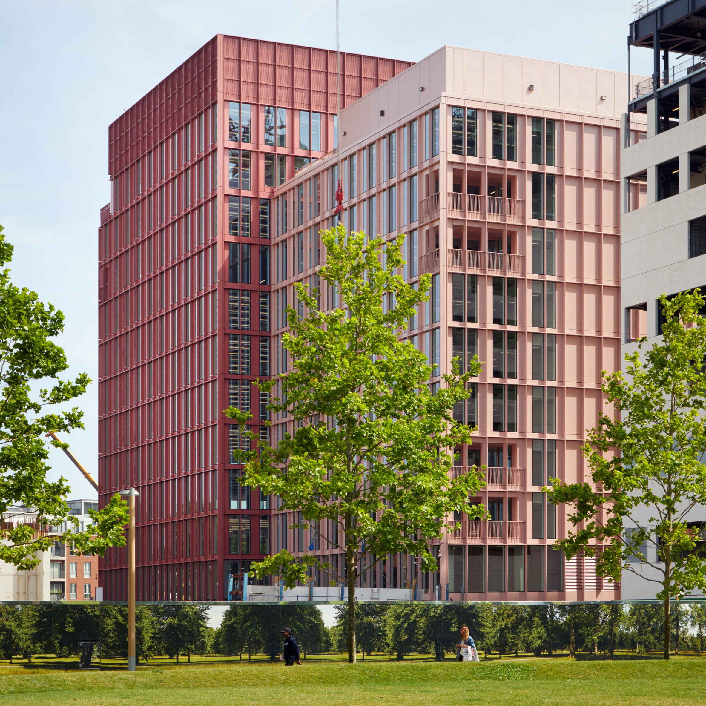 Pinterest roundup pink buildings