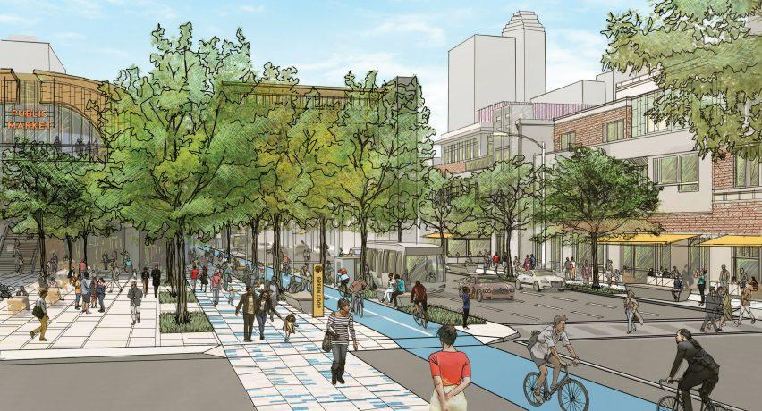 Plan Downtown Houston by Downtown District