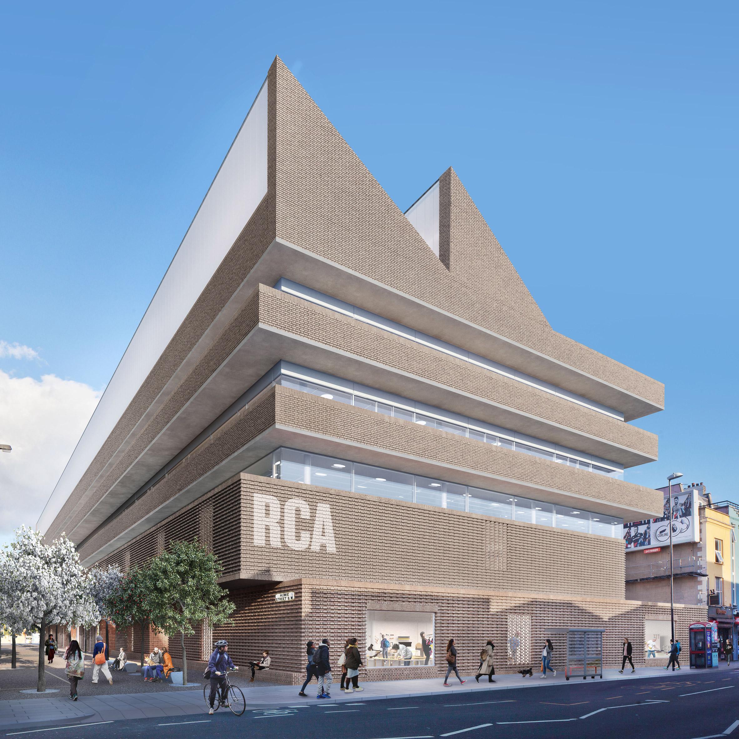 Herzog De Meuron Reveals Design For New £12 Million RCA Campus Stunning Herzog De Meuron To Design Residential High Rise In London