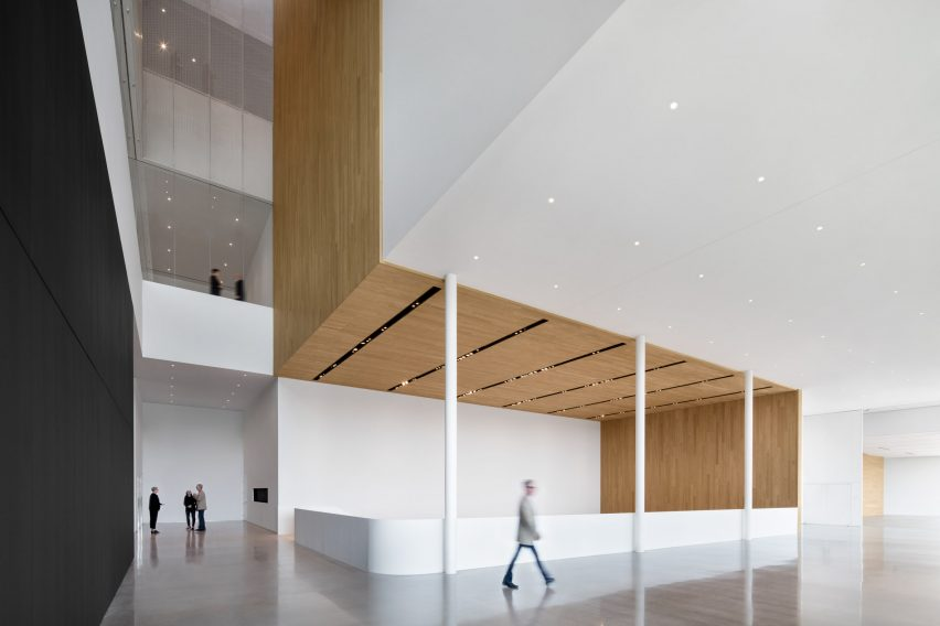 . Remai Modern museum in Canadian Prairies comprises stacked volumes
