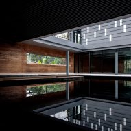 DL Atelier completes Chinese museum featuring rammed-earth walls and reflecting pools