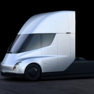 Semi truck and Roadster by Tesla