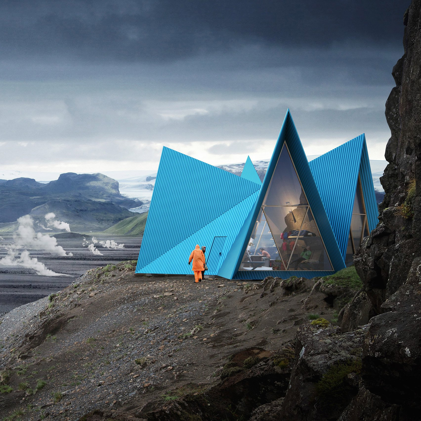 The Designer Mountain Hideaway For Extreme Trekkers