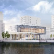 Winning design revealed for new library at London's brutalist Thamesmead estate
