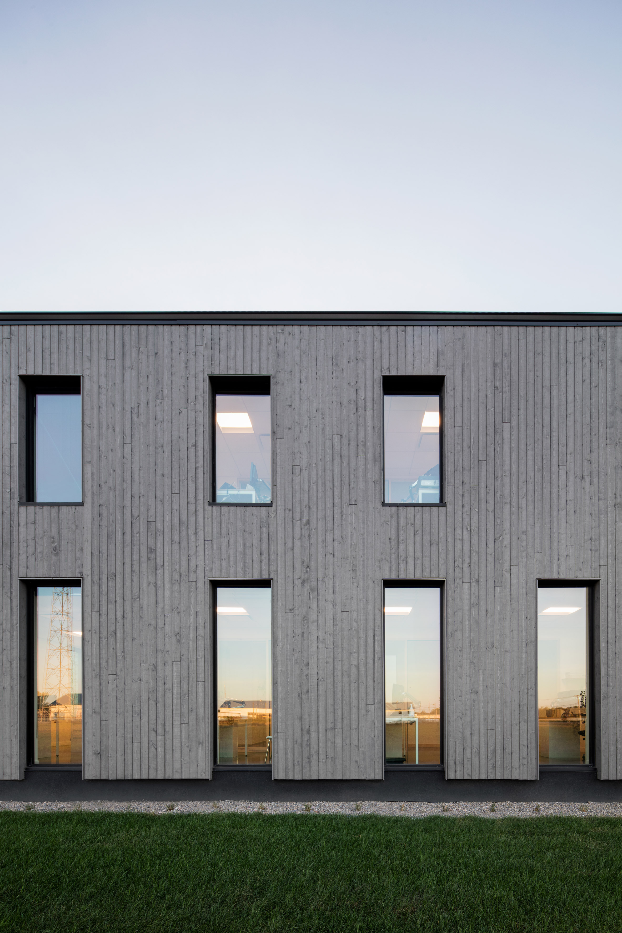 Standing in the Middle of the Field by Maurice Martel architect