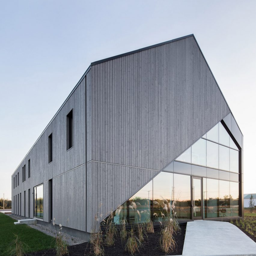 Maurice Martel Disguises Office Building As Contemporary
