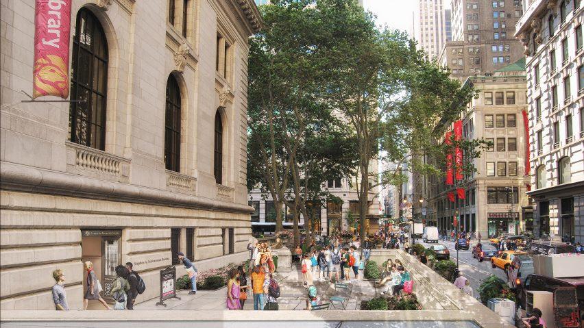 Mecanoo Reveals Renovation Plans For New York Public Library