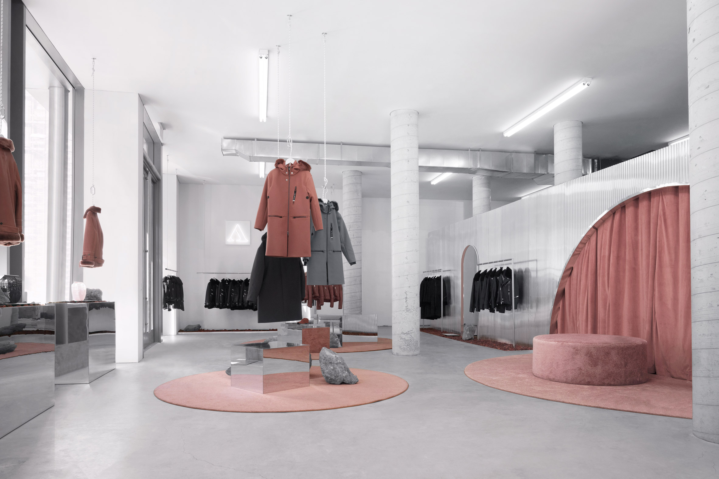 "The Arrivals opens ""alien"" fashion retail spaces in three US cities"