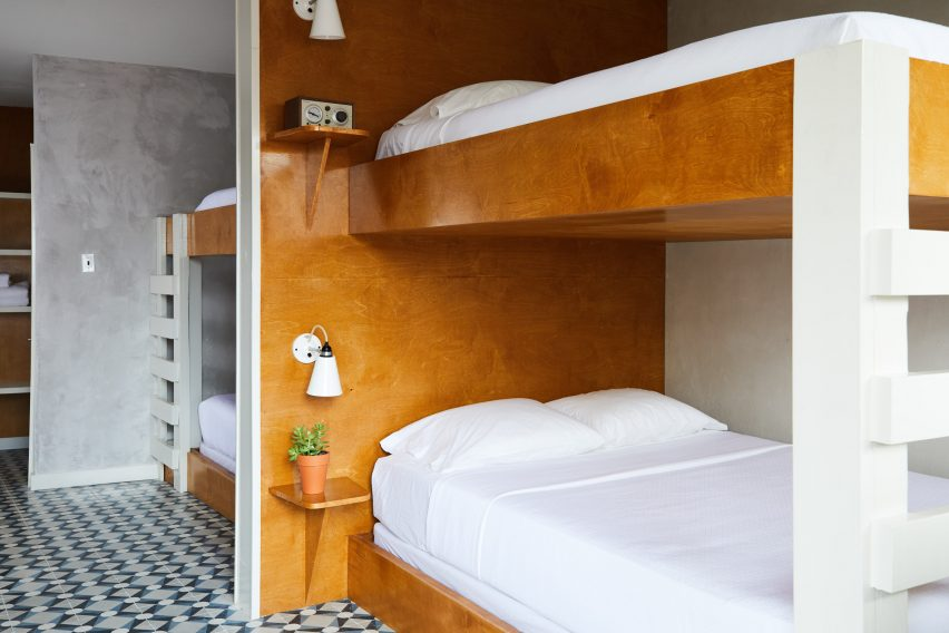 Nicole Cota Studio renovates 1950s motel in New Orleans to create The Drifter Hotel