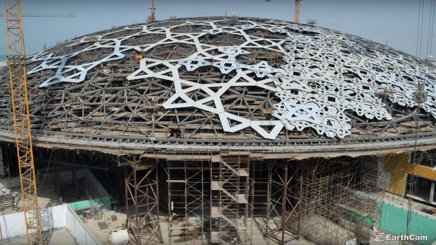 EarthCam Louvre Abu Dhabi Timelapse