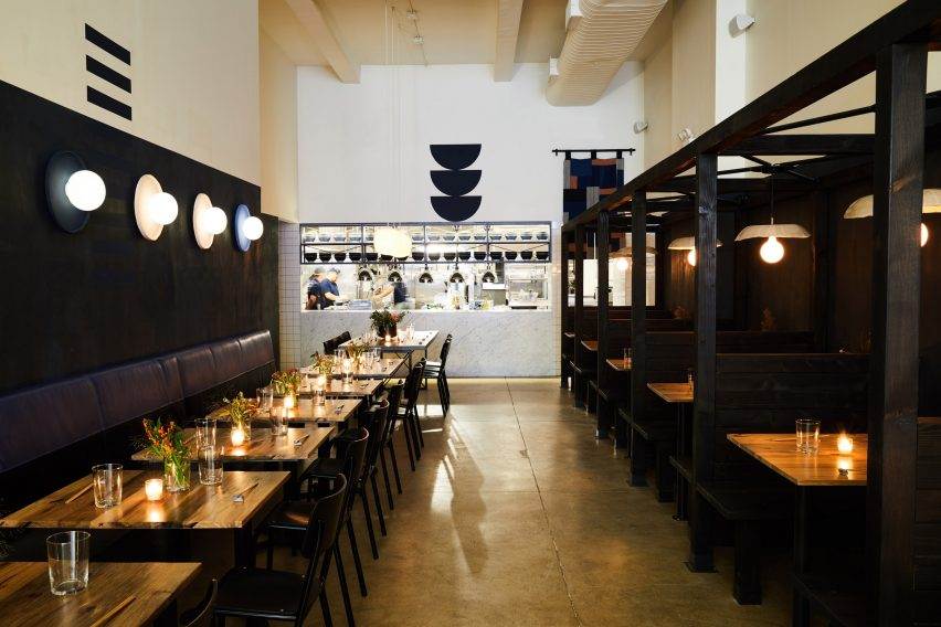 Tonchin restaurant by Carpenter & Mason