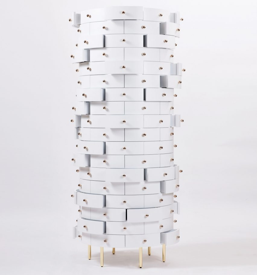 Tower Cabinet by Nika Zupanc