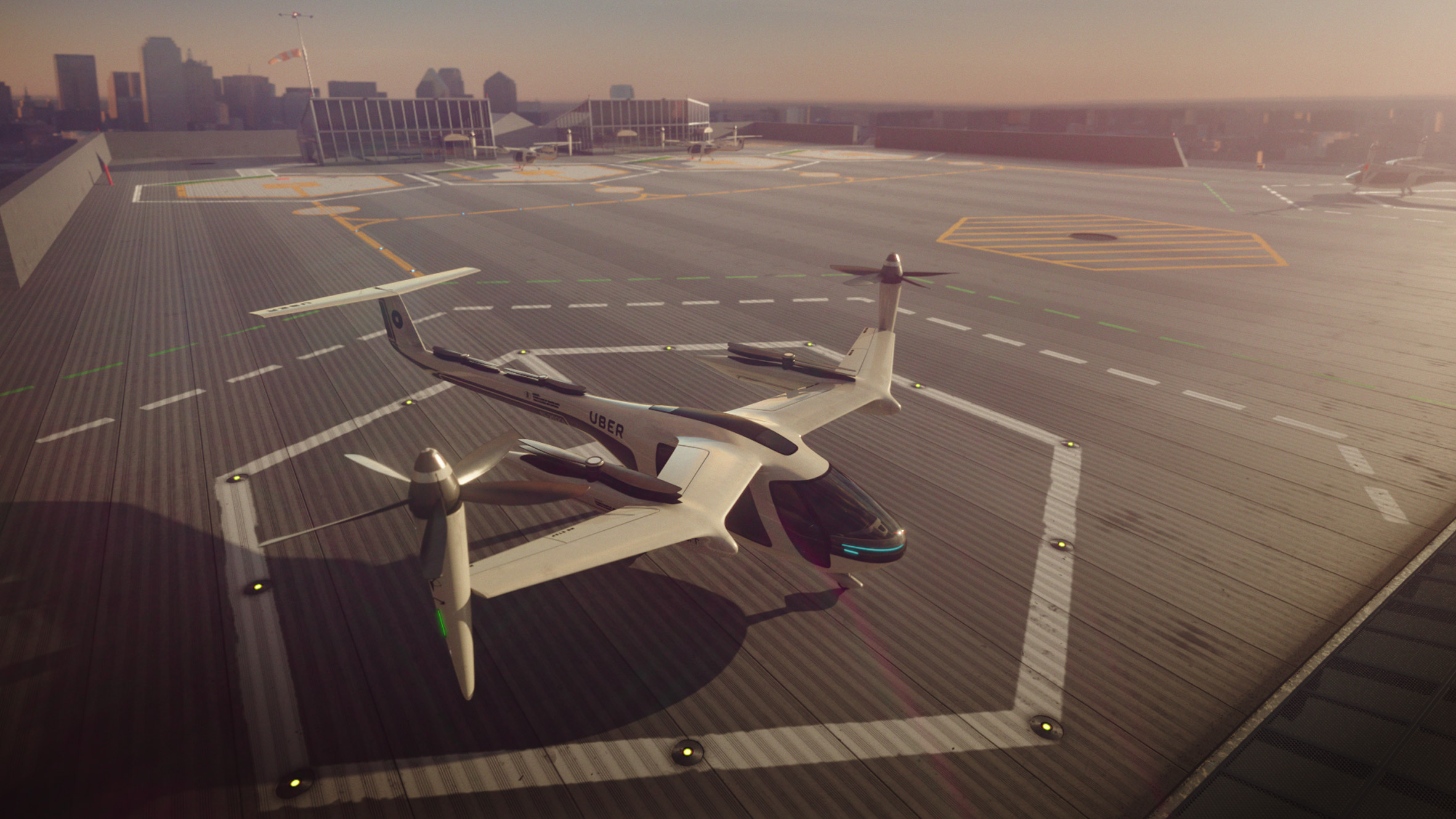 Uber and NASA to launch flying taxi service by 2020