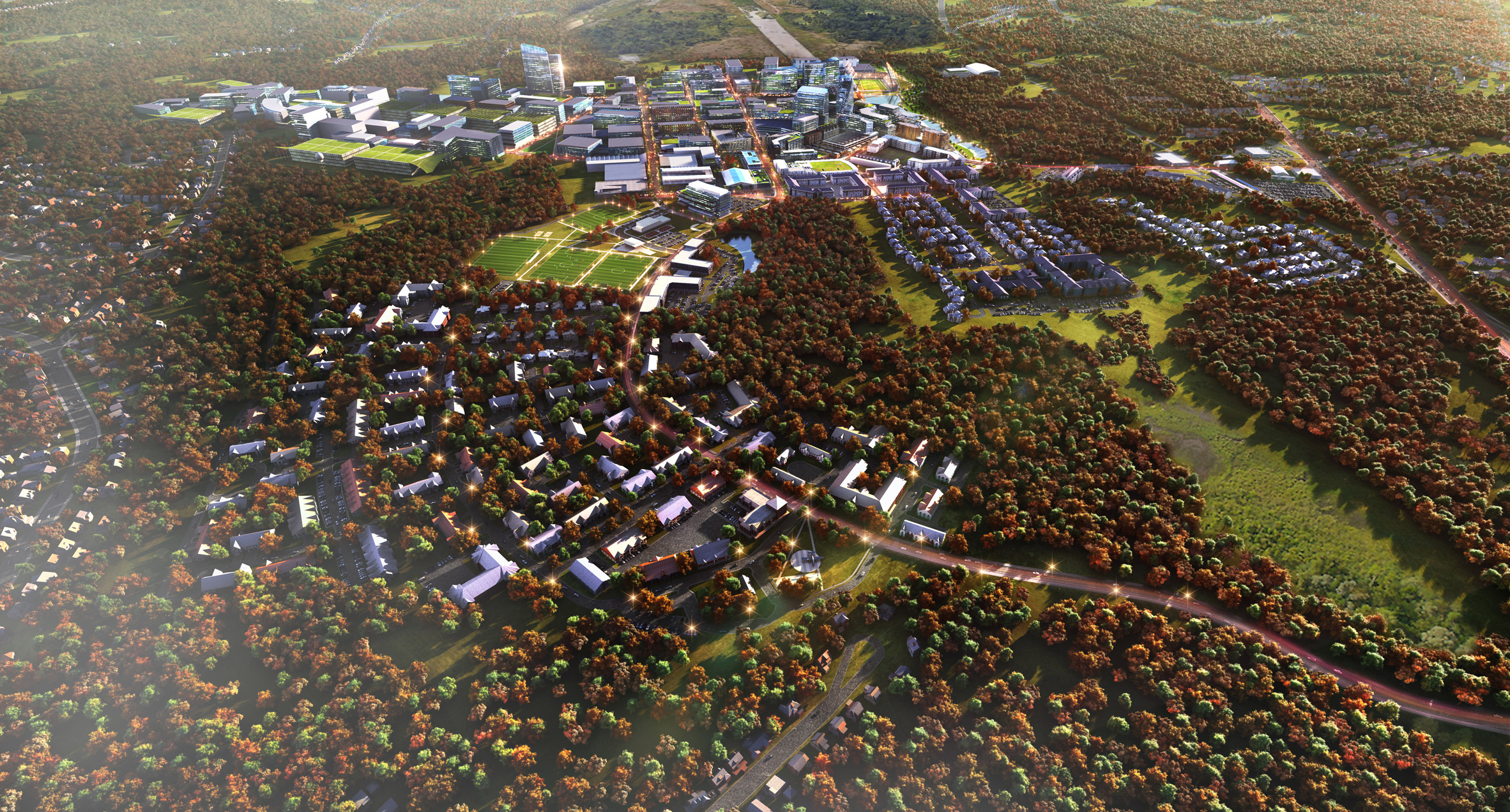 Smart city planned for former US Navy airfield near Boston