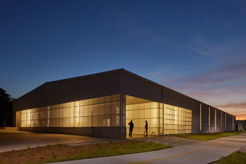 University of Arkansas art building by El Dorado